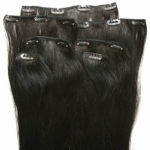 Clip In Hair Extension 100% Remy Human Hair  7pcs/Set 70g